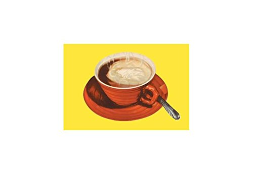 """""""Hot Cup of Cocoa"""" Print (Black Framed Poster Print 20x30)"""