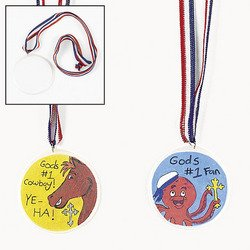 Fun Express Design Your Own! Medals (2 -