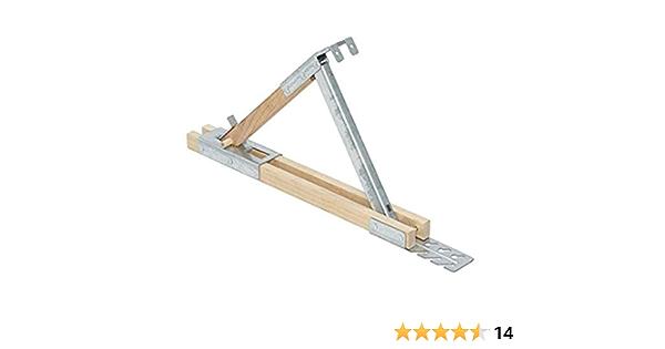 Pack Qualcraft 2500 Adjustable Roofing Bracket 3-