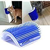 Jugtech 1 Self Groomer with Catnip, Massage Perfect Tool for Cats with Long & Short Fur