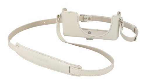 Olympus CSCH-97 Leather Body Jacket for XZ-1 Camera (White)