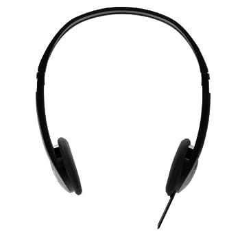 V7 3.5mm Stereo Headphones For Multimedia, Music Streaming, On Tablets, Pc, Notebooks (Ha300-2np) - Black 1