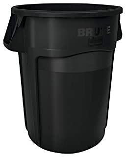 Rubbermaid Commercial Vented Brute Trash  Can, 55 Gallon, Black (B00P0S0Y8U) | Amazon price tracker / tracking, Amazon price history charts, Amazon price watches, Amazon price drop alerts