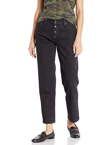 Lucky Women's Mid Rise Authentic Straight Crop Jean