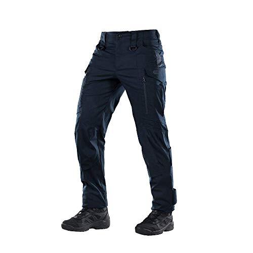 Conquistador Flex - Tactical Pants Men - with Cargo Pockets (Navy Blue, XXL/L)