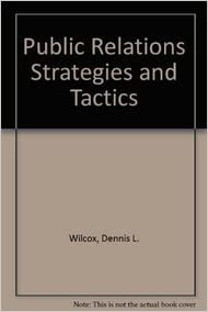 Public Relations Strategies and Tactics