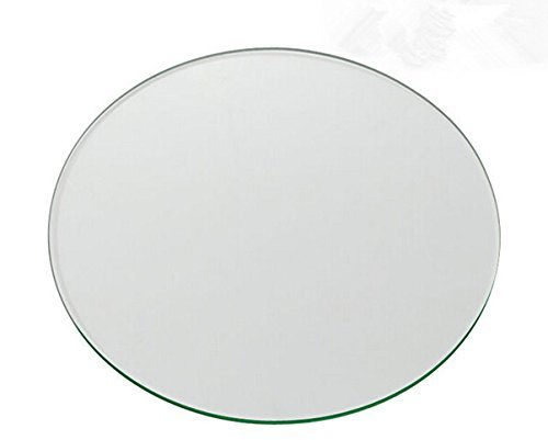 Wisamic Clear Circle Borosilicate Glass for 3d Printers Borosilicate Glass Platform for Afinia and UP! 3D Printers 120 * 3mm Signswise