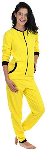 Yellow Womens Pajamas - 2