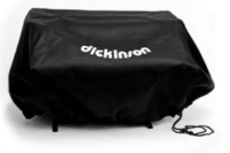 Dickinson Marine 15-184 Large Canvas Cover - Black