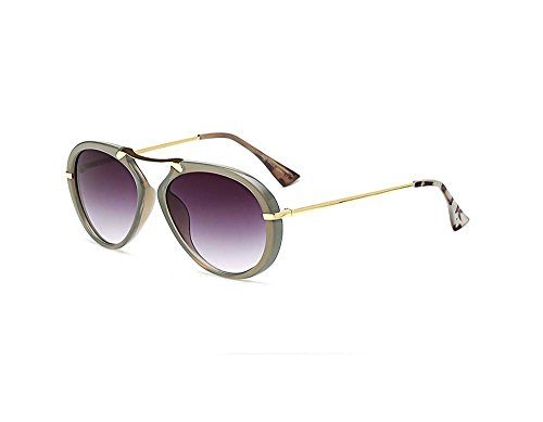 Purple color reflective (Gray color gradient, - Aviator Sunglasses Pilot Celine