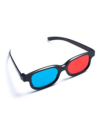 Red-blue / Cyan Anaglyph Fashion style 3D Glasses 3D movie game ()