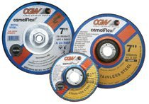 Depressed Center Wheel, Type 27, 6 in Dia, 1/4 in Thick, Hardness R, 24 Grit (15 Pack)