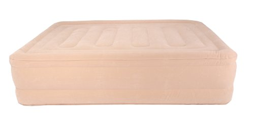 SimplySleeper FL-89Q Raised Inflatable Mattress w/ Flocked Top & Side Material - NEW! Built-in Auto-Stop Electric Pump and Sure Grip Bottom (Includes Travel bag and Repair Kit) by SimplySleeper (Image #5)