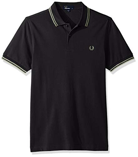 Polo Twin Uomo Black Perry paleolive Fp Tipped Fred wzqASI1z