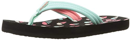 Flips Flip Flop Sandal - Reef Girls' Little Ahi Sandal, Ice Cream, 13-1 M US Big Kid