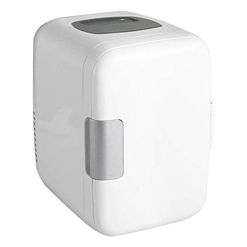 wudidianzi Mini Portable Compact Personal Fridge, Cools & Heats for Car and Home