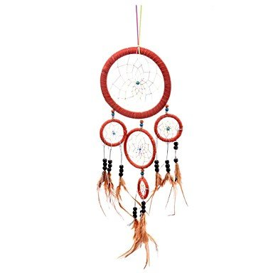 Tint Lureme? SweetLovely Candy Color Bead Feather Dreamcatcher Wind Chimes