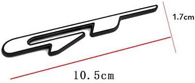Z/&HX GTline Logo badge ABS material Car styling sticker for Hyundai Kia GT KX5 K3 K4 K5 Stinger Side fender wing//tailgate,GT