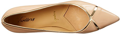 Trotters Nude Kelsey Women's Dress Gold Pump RpHqRfw