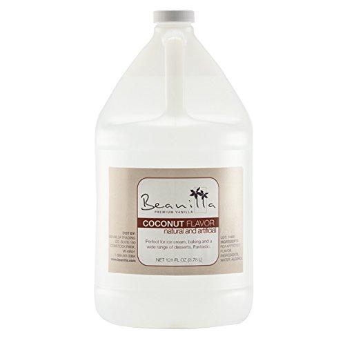 Natural Coconut Flavor - 128 fl oz (Gallon) by Beanilla Vanilla