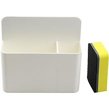Amazon.com : White Magnetic Marker Holder for Whiteboards