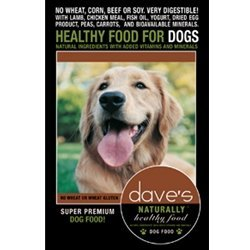 Dave'S Pet Food Naturally Healthy Adult Dry Dog Food, 30 Lb