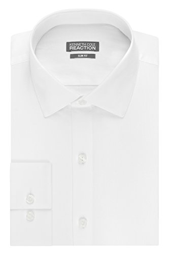 kenneth-cole-mens-slim-fit-solid-dot-spread-collar-dress-shirt-white-155-neck-32-33-sleeve
