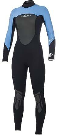BARE Women's Full Wetsuit (Blue, 6)