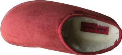 Andre Machado Pantolette - Zuecos para mujer rojo - Rotbraun