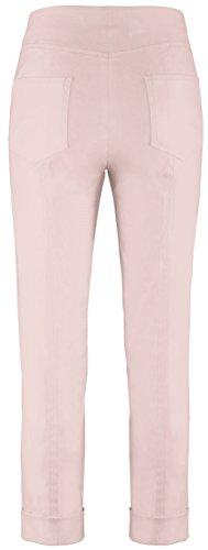 Stehmann IGOR-680 14060-7503, sportive Damenhose mit aufgesetzten Taschen und Aufschlag, 6/8 Länge