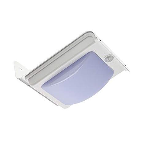 Aplique LED Solar con Detector de Movimiento PIR Silver River efectoLED