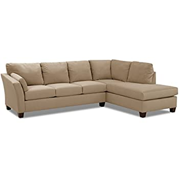 Klaussner Drew Sectional, Taupe