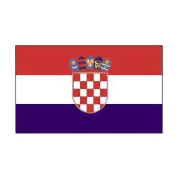 Ft X Ft Croatia Flag Polyester Online Stores  Poly
