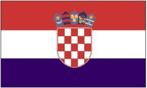 - 3ft x 5ft Croatia Flag - Polyester - Online Stores - 3 x 5 - Poly Croatian Flag