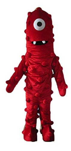 Funny Adult Yo Gabba Gabba Muno Mascot Costume for Party Cartoon -