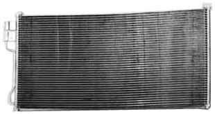 TYC 4879 Ford/Lincoln Parallel Flow Replacement Condenser
