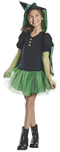 - Rubies Wizard of Oz Wicked Witch of The West Hoodie Dress Costume, Child Small