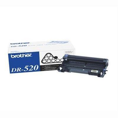 Brother DR520 Drum Unit - 25000 Page - Black (Unit 25000 Drum Page Dr520)