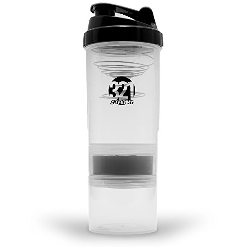 321 STRONG Shaker Bottle for Protein Shakes