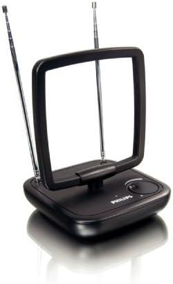 Philips SDV5120/12 - Antena de TV (Obstrucción 75 Ohmio), negro ...