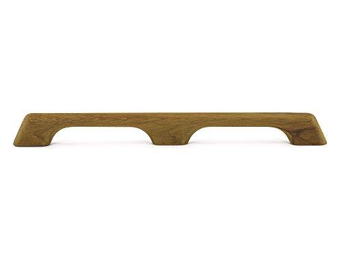 Whitecap 60102 Teak Handrail - 2-Loop (Stock Teak)