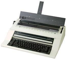 NAKAJIMA AE-710 Electronic Typewriter, 2cps Print Speed, Automatic Centering, Automatic Carrier Return, Automatic Word Correction, Automatic Underlining, Bold Type, 10 line/700 character memory