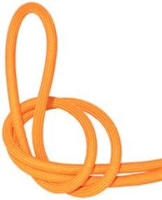 Fil /électrique tissu orange