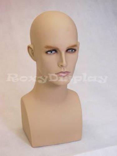 MD-ERAF2 ROXY DISPLAY Male mannequin head
