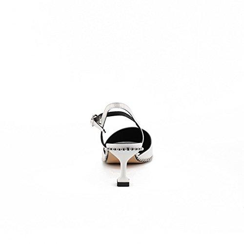 Zeppa Sandali Con 1to9 Sconosciuto Donna White HT4RSwxt