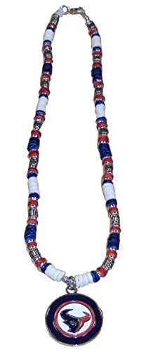 NFL Houston Texans Shell Necklace, 18-Inch, White