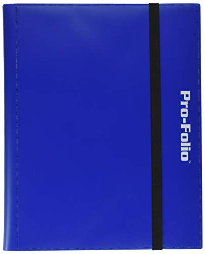 (Pro-Folio 9-Pocket Album, Blue)
