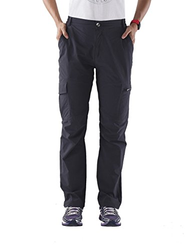 Nonwe Women's Quick Dry Hiking Pants Gray M/32 (Gray Lightweight Tactical Pants)