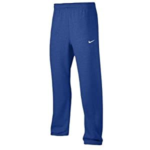 Nike Club Swoosh Men's Fleece Sweatpants Pants Classic Fit, X-Large - royal/white