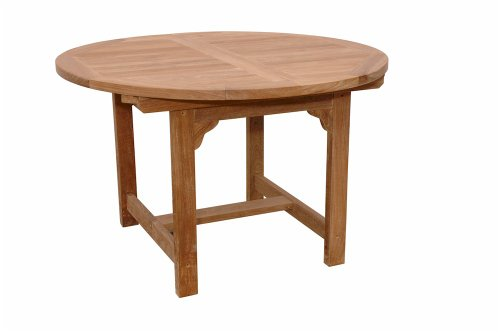Anderson Teak Bahama Oval Extension Table, 67-Inch -